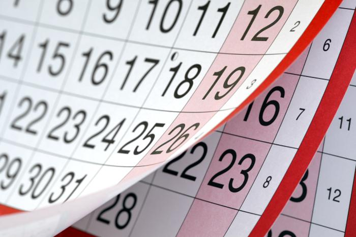 Calendari oficial de les festes laborals a Catalunya per a l'any 2019