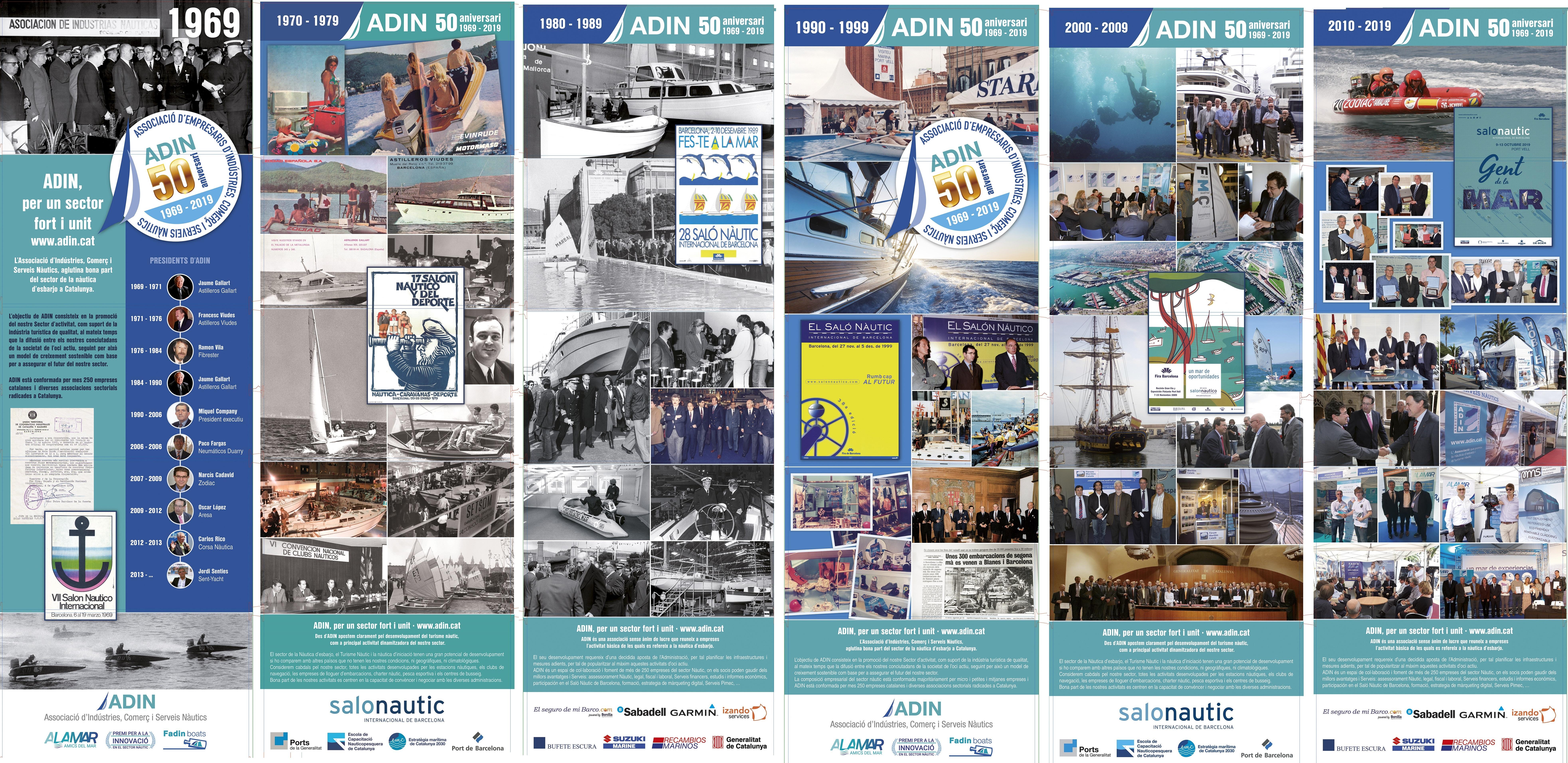 Les exposicions fotogràfiques del 50è Aniversari d'ADIN continuen la seva tourné pel litoral català