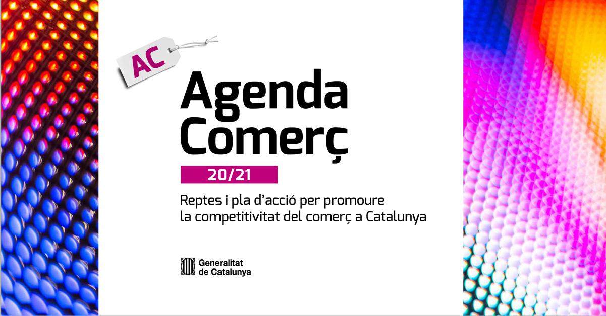 ADIN a la presentació de l'Agenda Comerç 20/21 de l'Hble. Consellera Àngels Chacón