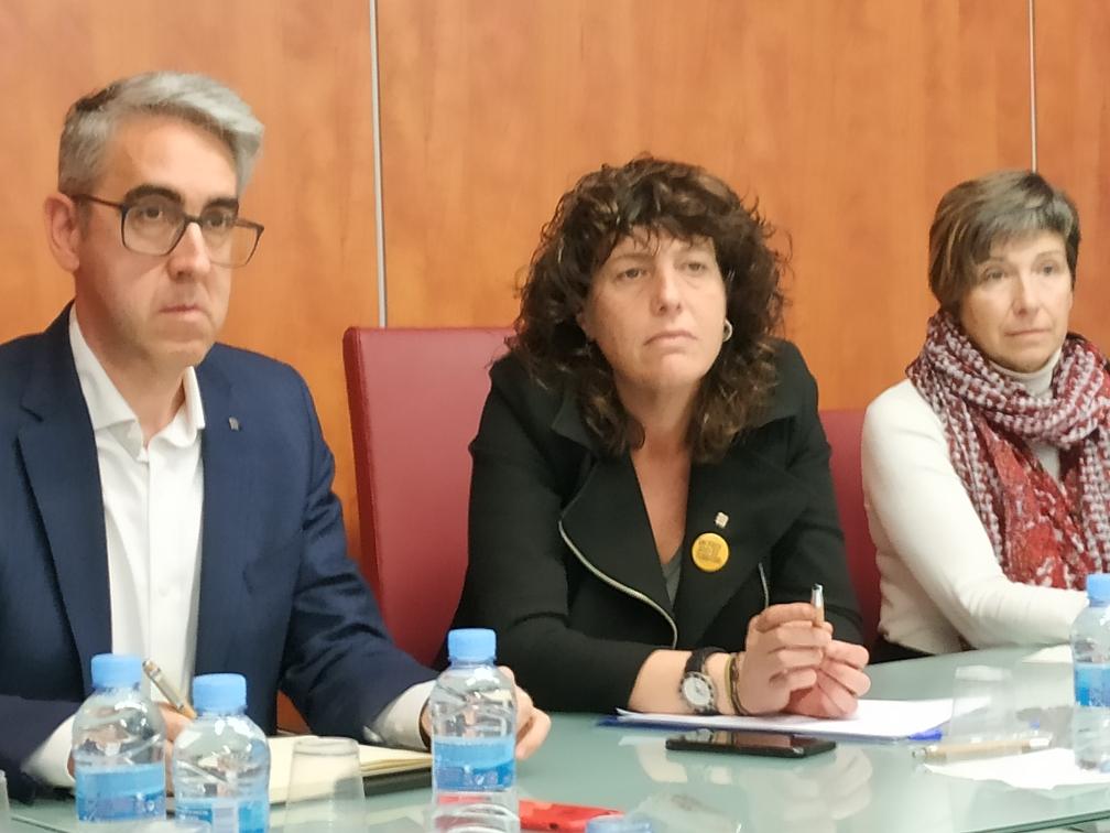 Reunió d'ADIN i els principals agents del sector amb l'Hble. Teresa Jordà, Consellera d'Agricultura, Ramaderia, Pesca i Alimentació.