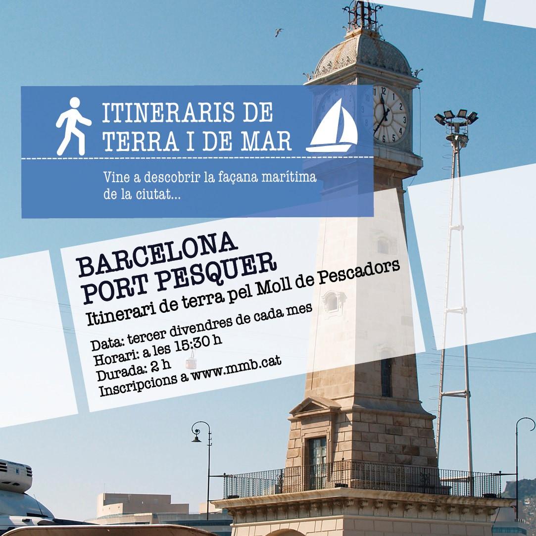 Terra i Mar al Museu Marítim a la Barceloneta