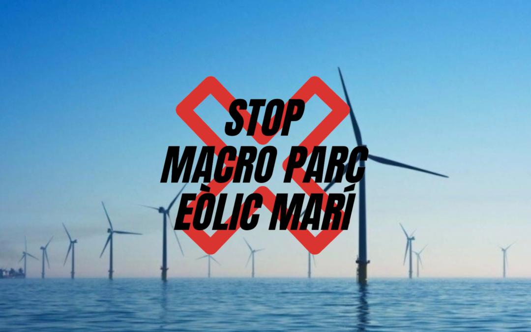 IMPORTANT PER A LA CAUSA DE L'ASSOCIACIÓ STOP AL MACROPARC EÒLIC MARÍ